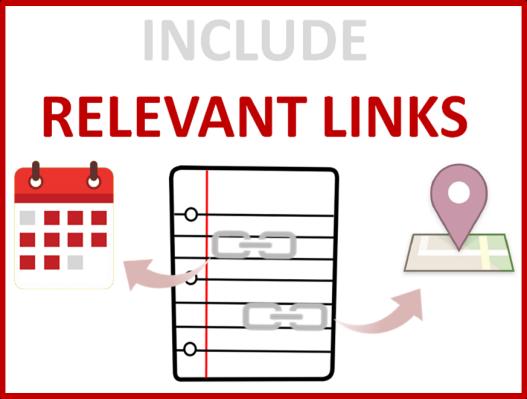 relevant links