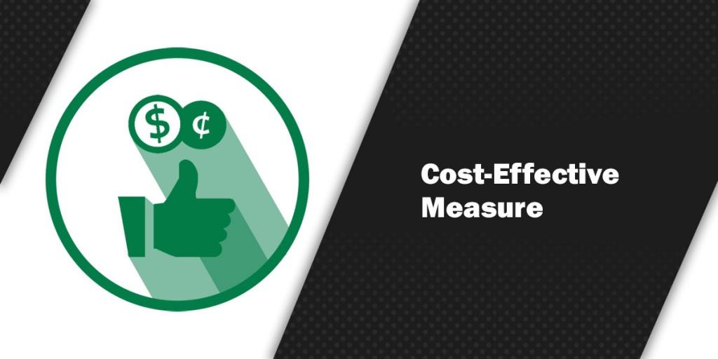 Cost-Effective Measure